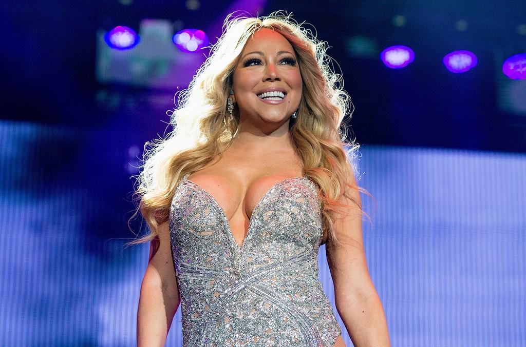 Mariah Carey performs in 2016