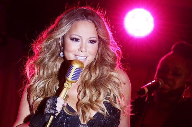 Mariah Carey performs 2014