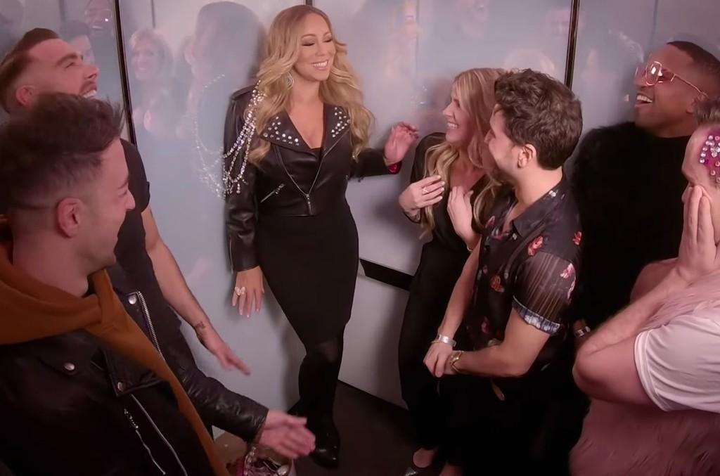 Mariah Carey at 'TRL'