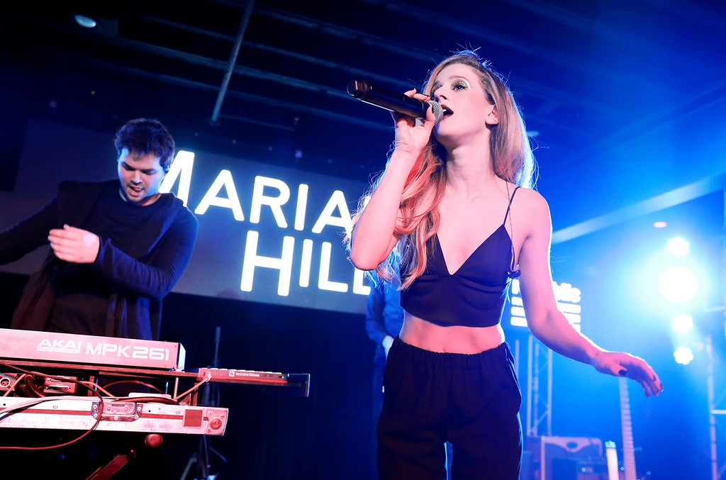 Jeremy Lloyd and Samantha Gongol of Marian Hill perform during UMG's Music is Universal Showcase Presented by O Organics and PUMA at SXSW on March 15, 2017 in Austin, Texas.