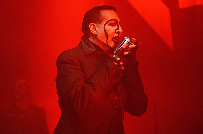 Marilyn Manson Chicago 2015