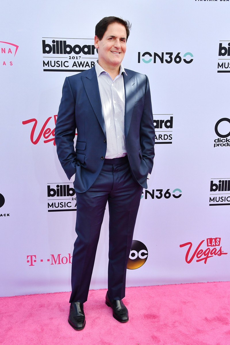 Mark Cuban attends the 2017 Billboard Music Awards at T-Mobile Arena on May 21, 2017 in Las Vegas.