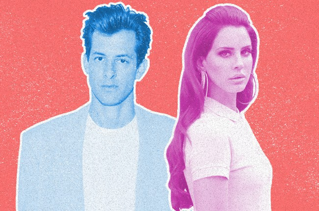 mark Ronson and Lana Del Rey