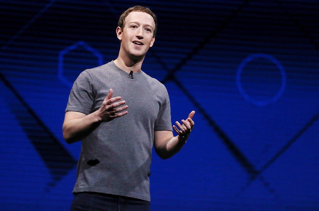 Mark Zuckerberg, 2017