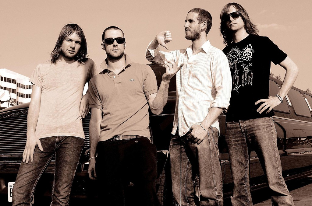 Maroon 5 photographed in 2004.