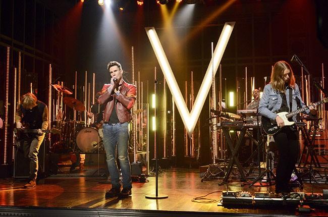 Maroon 5, 2014.