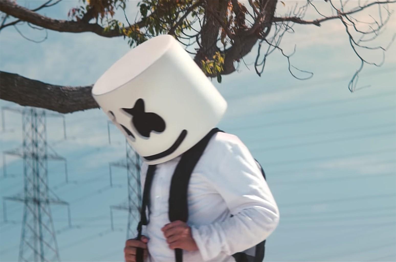 """Marshmello, """"Alone"""""""