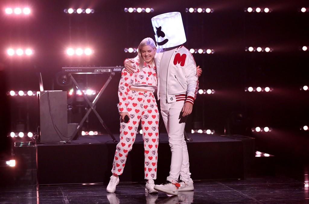 Marshmello Anne Marie Drop Gorgeous Acoustic Version Of Friends Listen Billboard