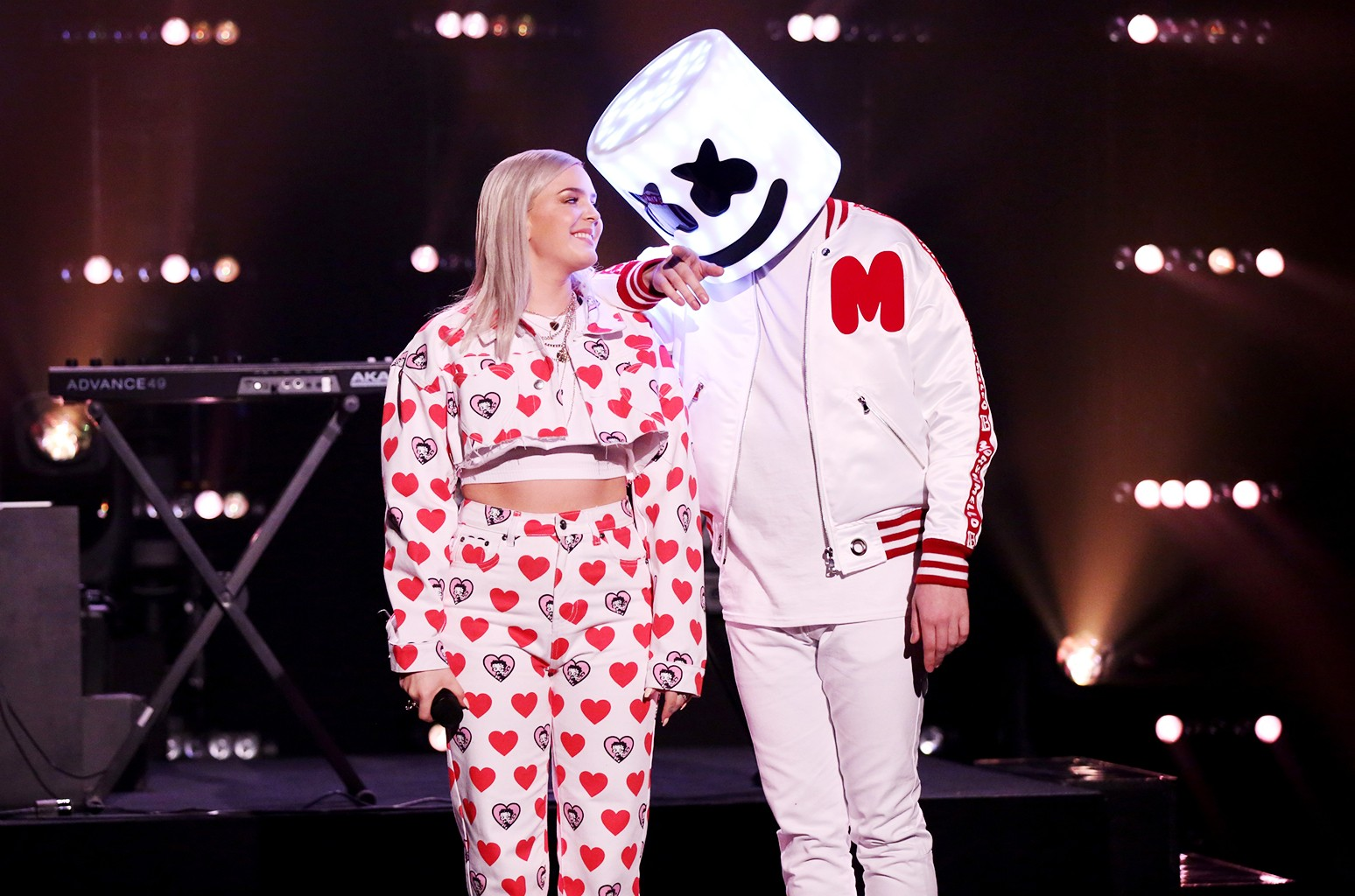 Anne-Marie and Marshmello