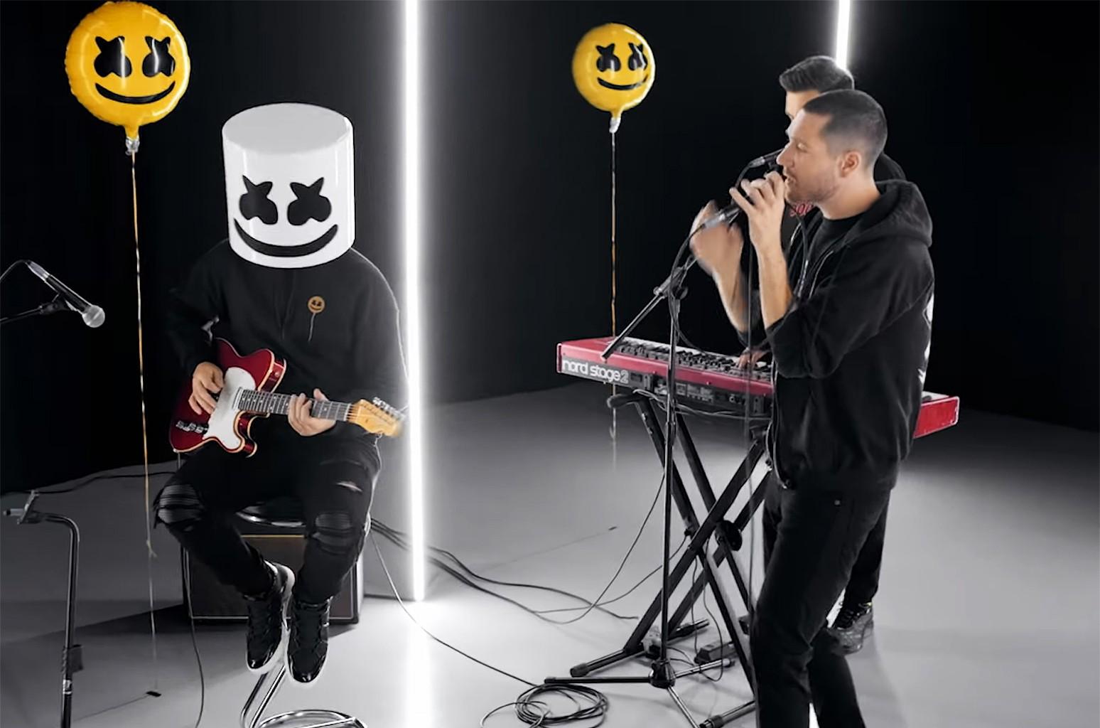 """Marshmello ft. Bastille, """"Happier"""" (Acoustic Music Video)"""