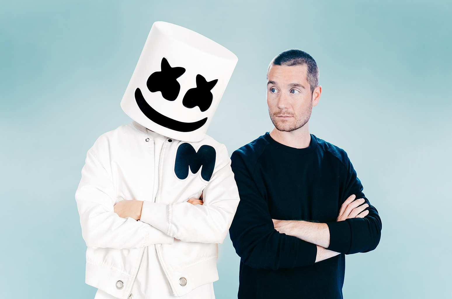 Marshmello & Dan Smith of Bastille