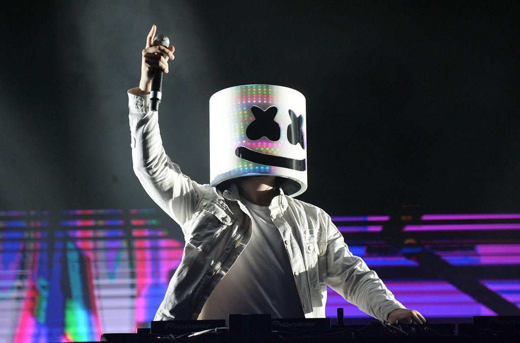 Marshmello, 2017 Billboard Hot 100 Festival