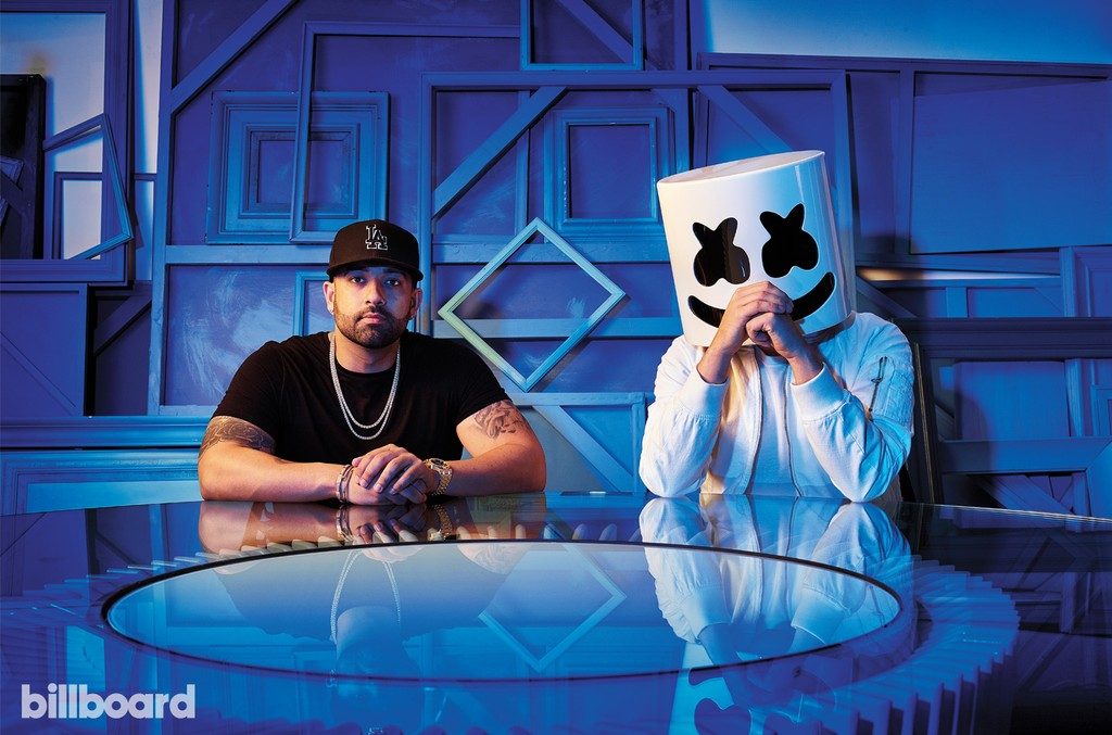 Marshmello and Moe Shalizi photographed on May 31st in Beverly Hills.