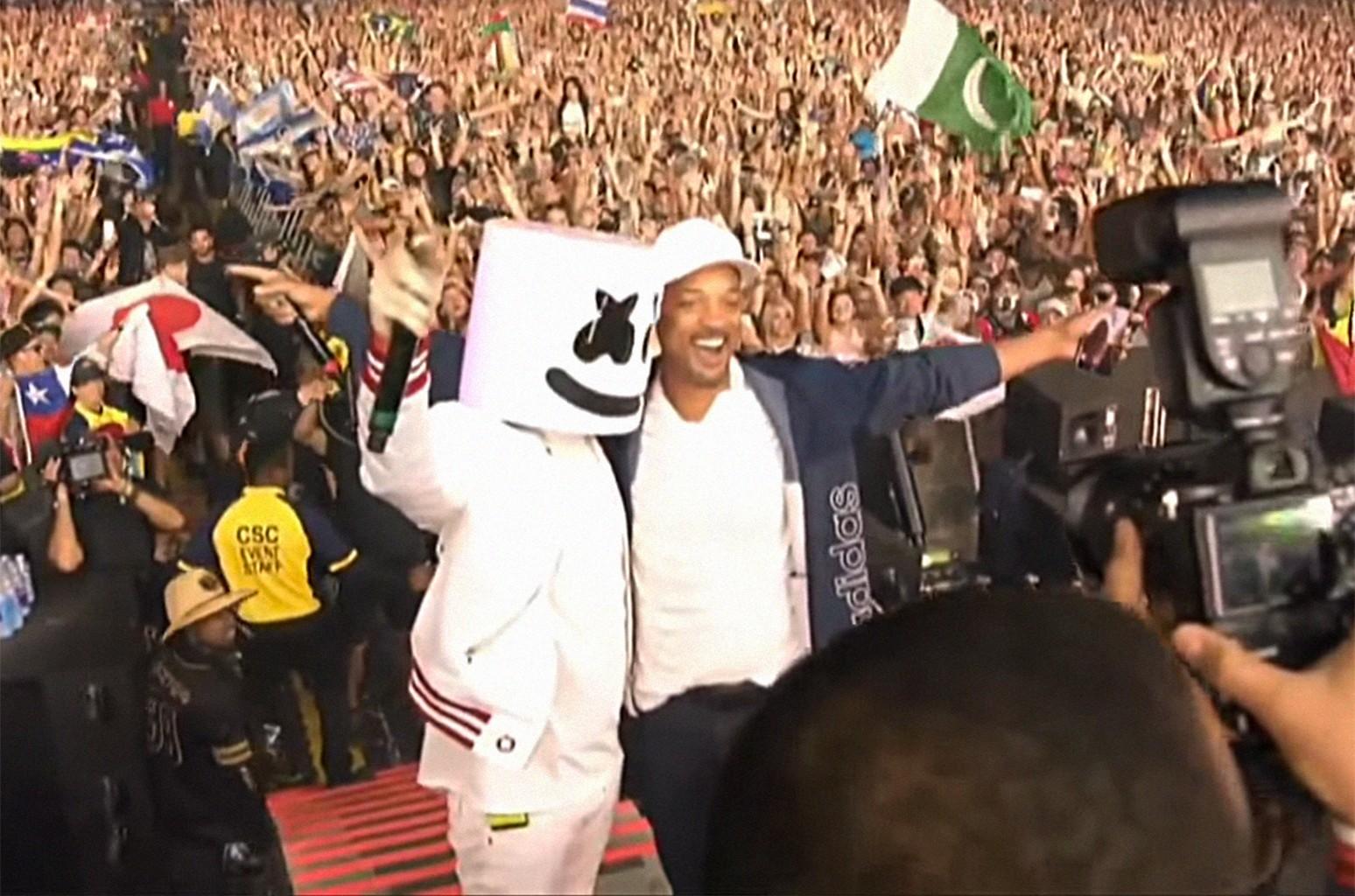 Marshmello & Will Smith