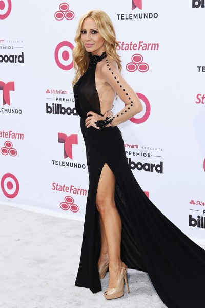 Martha Sanchez arrives at 2015 Billboard Latin Music Awards