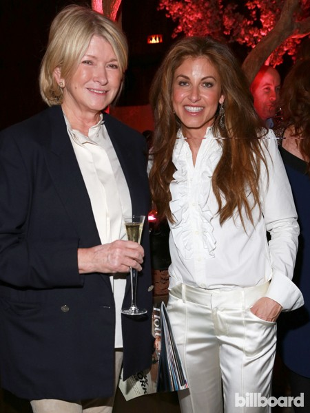 Martha Stewart, left, and Dylan Lauren attend The 35 Most Powerful People in Media hosted by The Hollywood Reporter