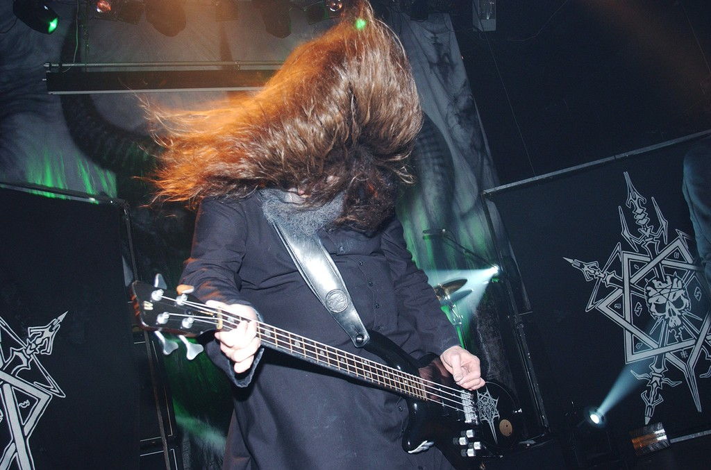 Martin Eric Ain of Celtic Frost