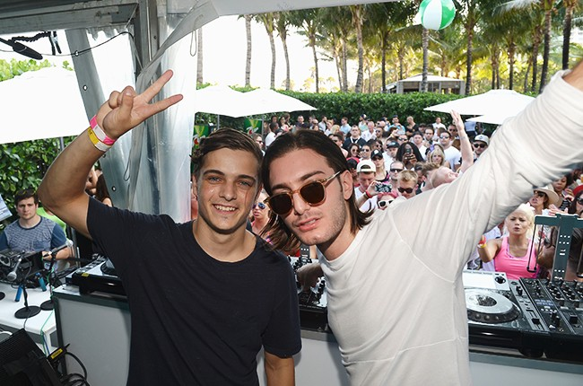 """Martin Garrix and Alesso perform at SiriusXM""""s """"UMF Radio"""" Broadcast Live From The SiriusXM Music Lounge"""