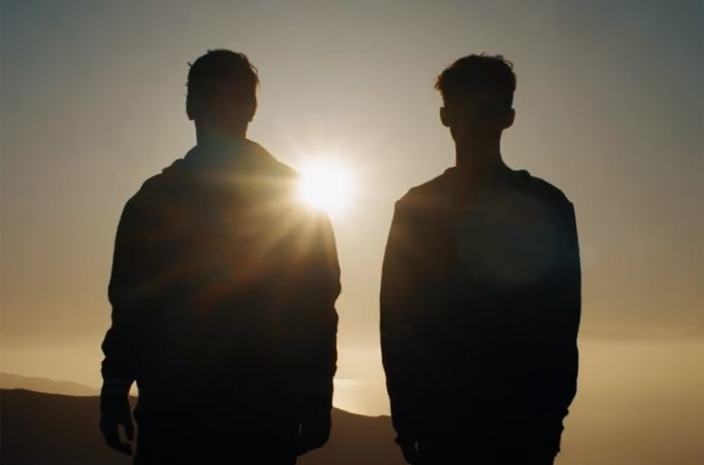 """Martin Garrix and Troye Sivan in teaser video for their new song, """"There For You."""""""