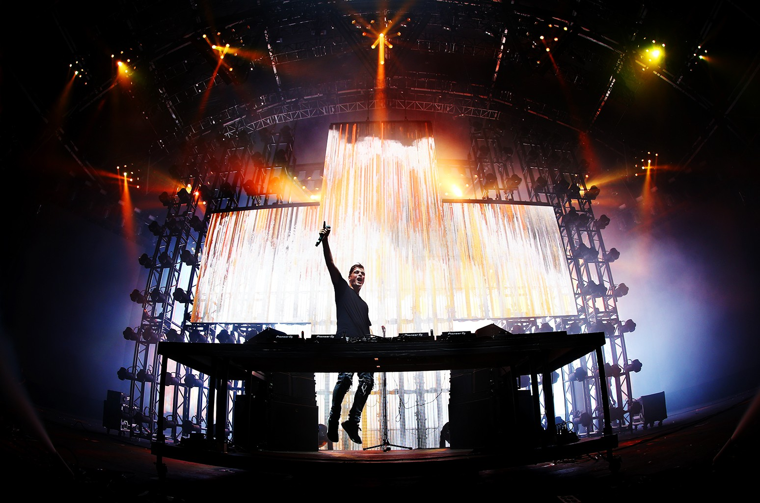 DJ Martin Garrix performs on the Sahara Stage during day 2 of the Coachella Valley Music And Arts Festival (Weekend 1) at the Empire Polo Club on April 14, 2017 in Indio, Calif.