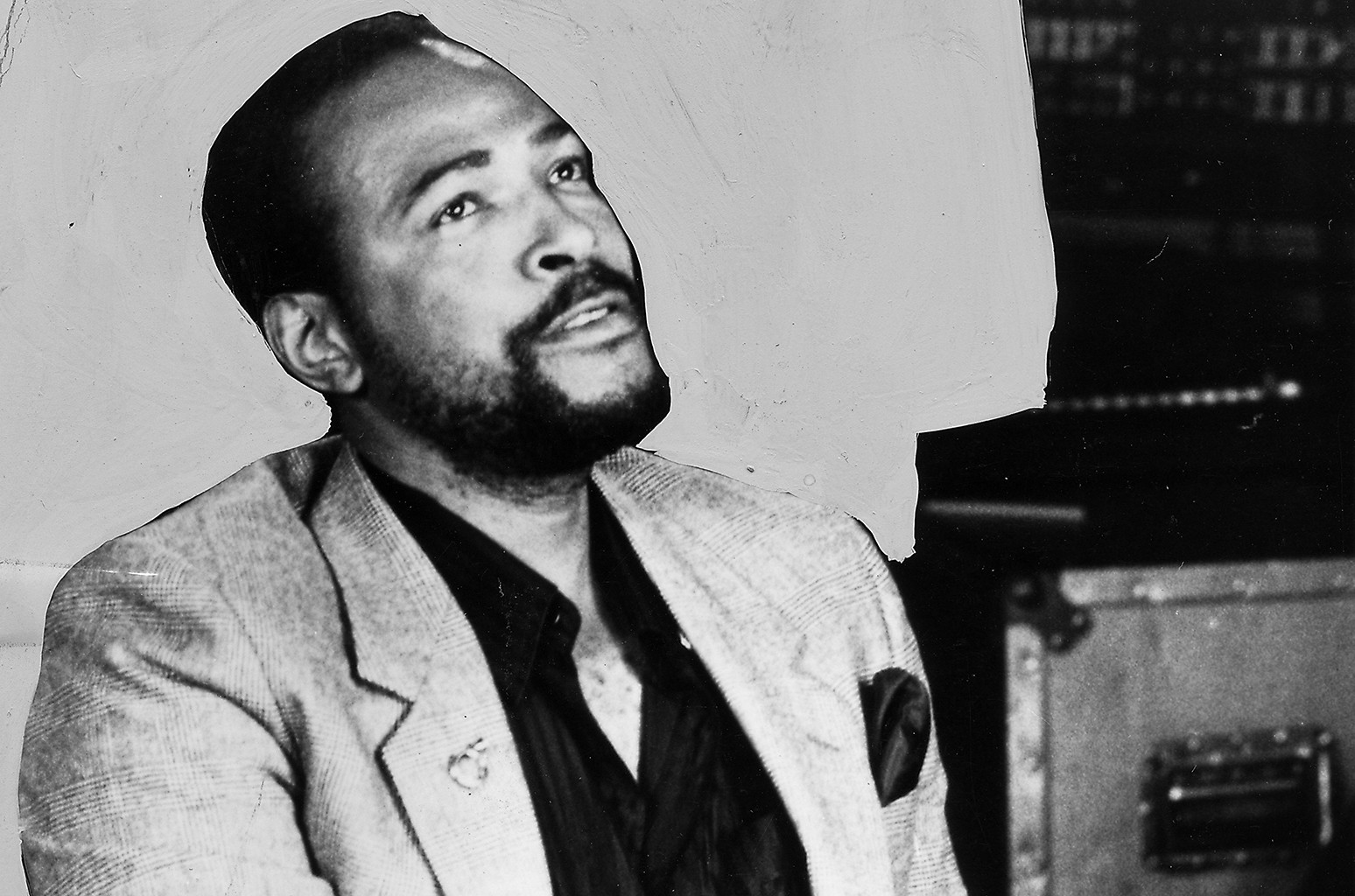 Marvin Gaye photographed in 1970.