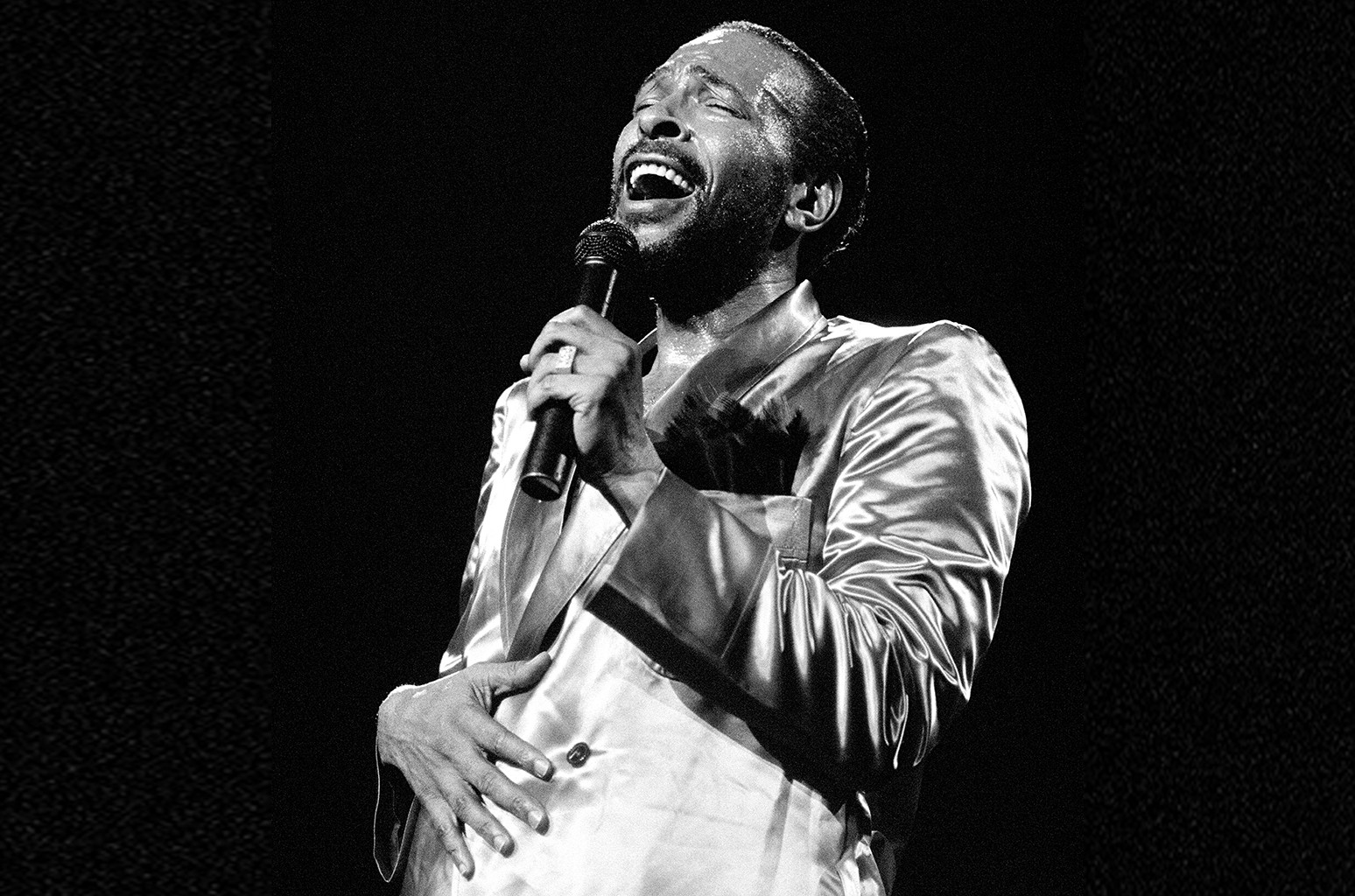 Marvin Gaye performs in New York City