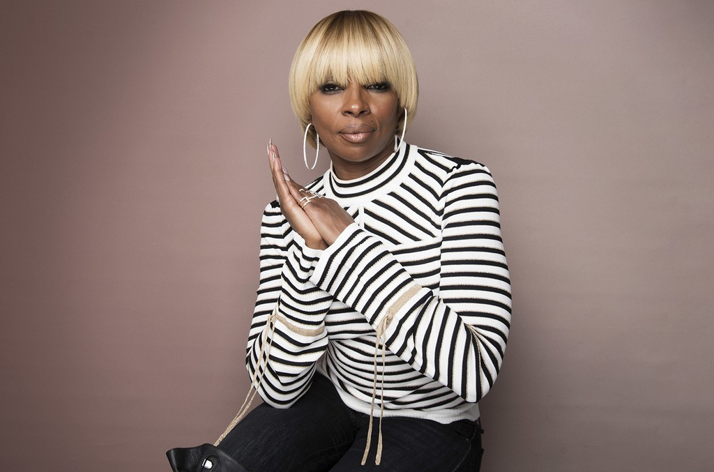 Mary J. Blige photographed at the Music Lodge during the Sundance Film Festival on Jan. 21, 2017 in Park City, Utah.
