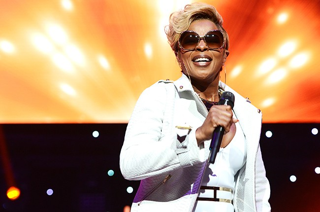 Mary J. Blige performs during the 2014 BET Experience