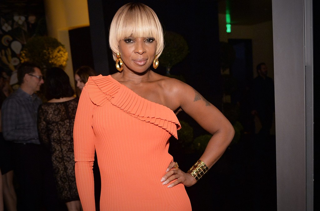 Mary J. Blige in 2016