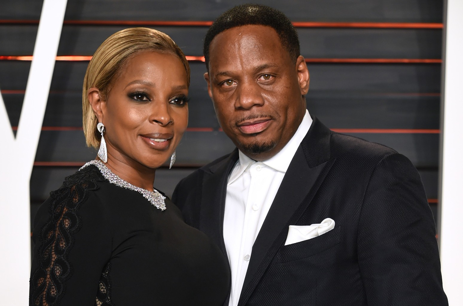 Mary J. Blige and Kendu Isaacs in 2016