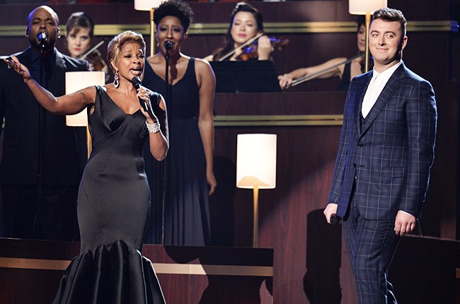 sam smith and mary j blige