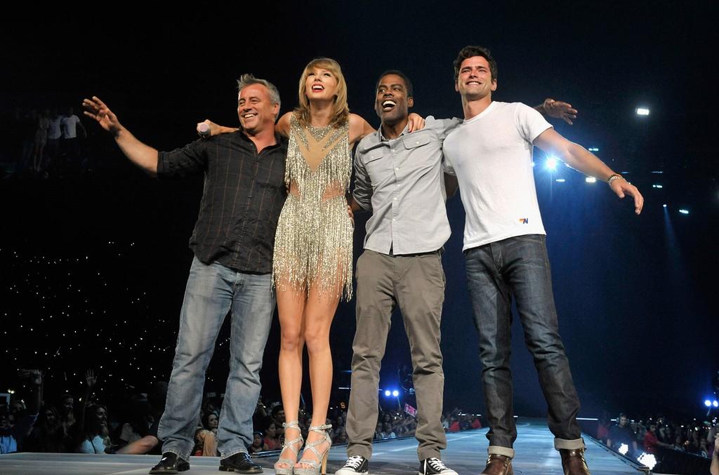 Matt Leblanc and Taylor Swift