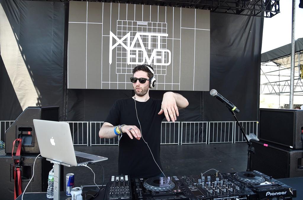 Matt Medved performs onstage during the 2016 Billboard Hot 100 Festival