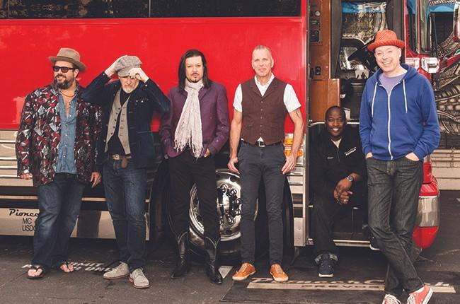 The Maverics Tour Bus in Backstage Pass