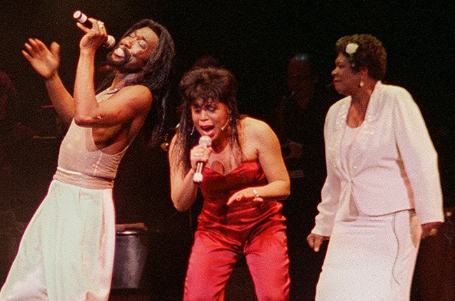 Maya Angelou with Ashford and Simpson