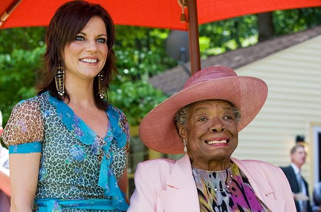 Martina McBride and Dr. Maya Angelou