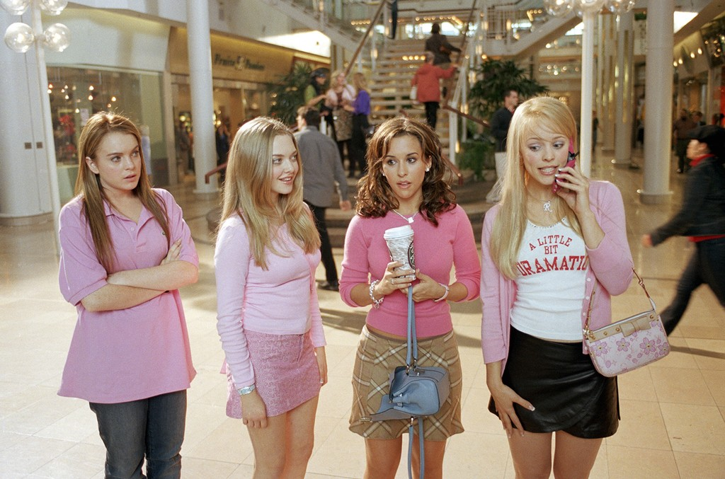 A scene from the 2004 movie Mean Girls.