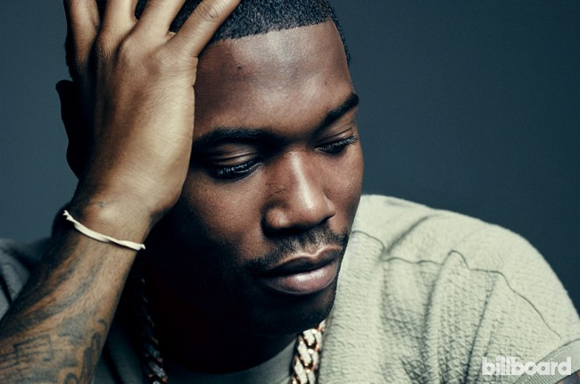 Meek Mill photographed on July 7, 2015 at Drive-In Studio in New York City.