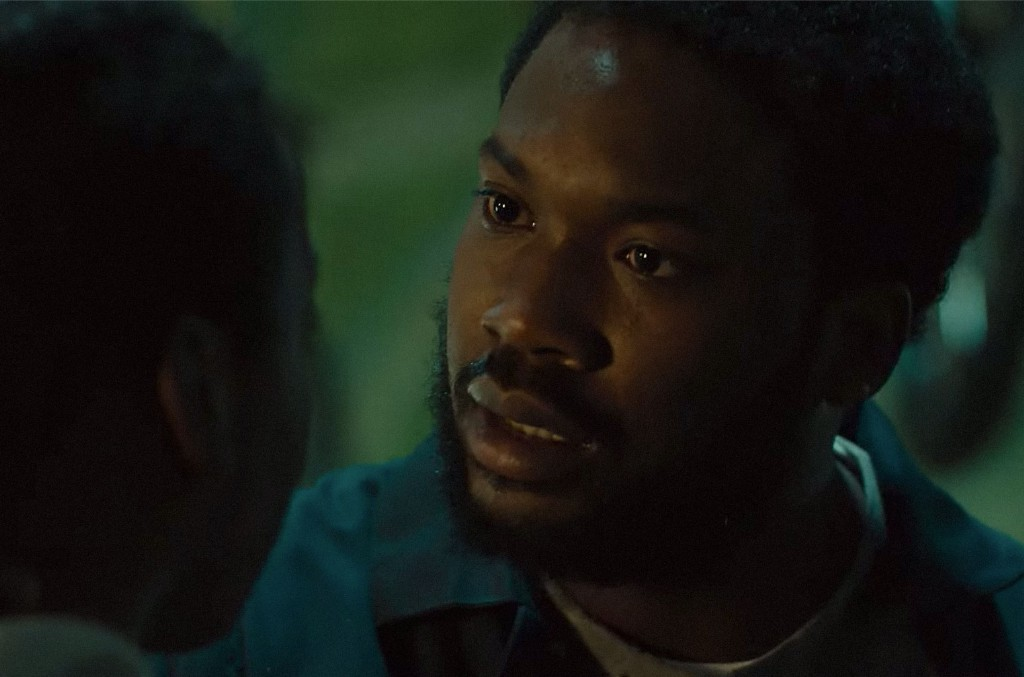 Meek Mill in the trailer for 'Charm City Kings.'