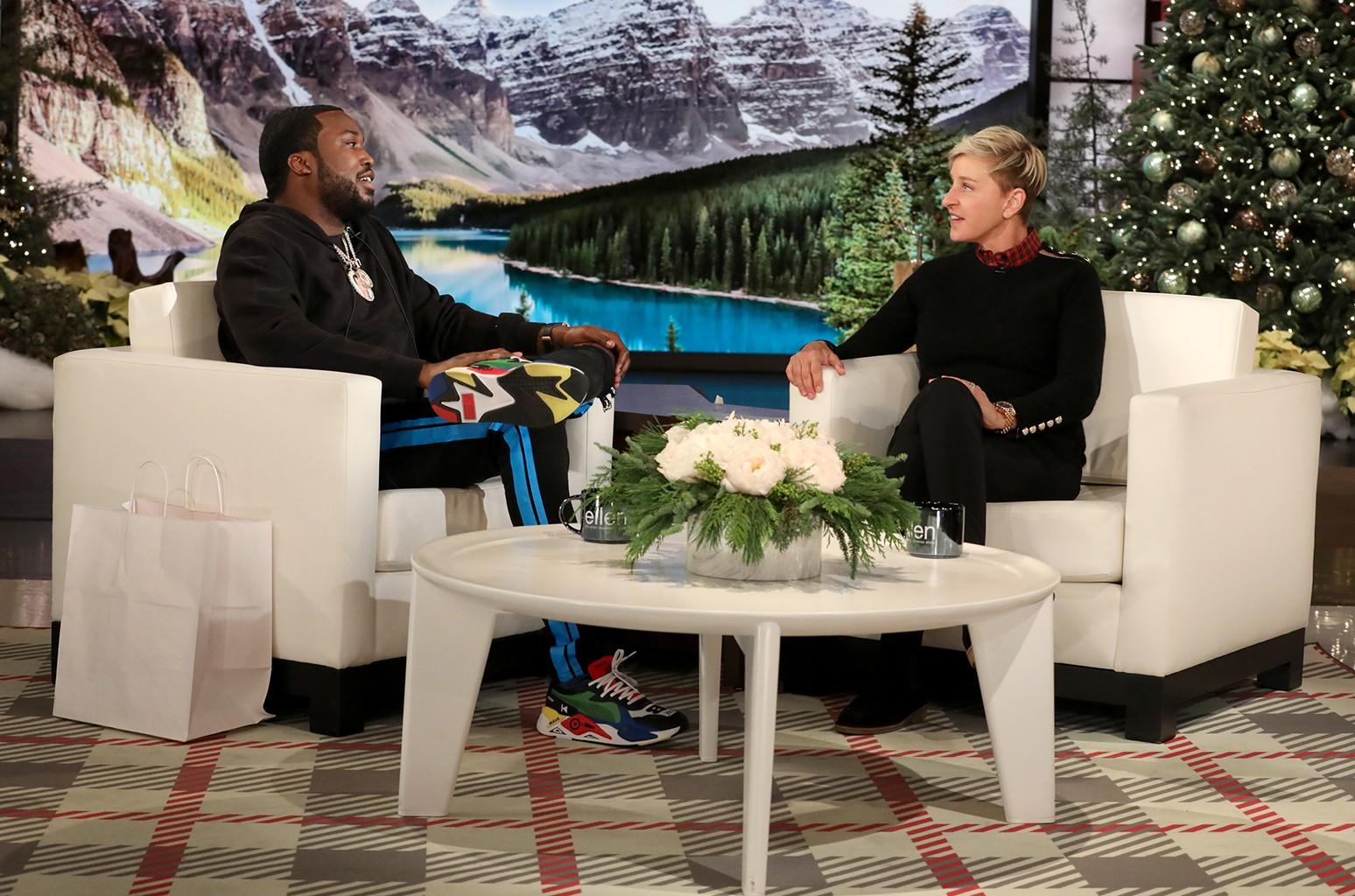 Meek Mill Ellen DeGeneres
