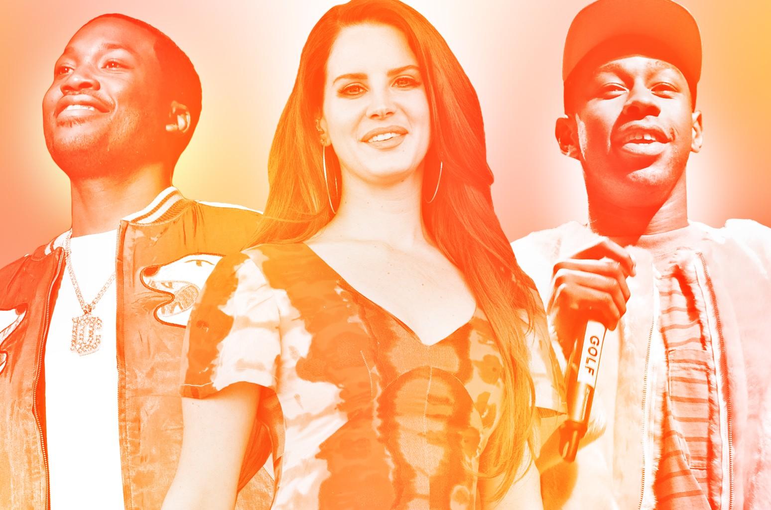 Meek Mill, Lana Del Rey & Tyler, The Creator
