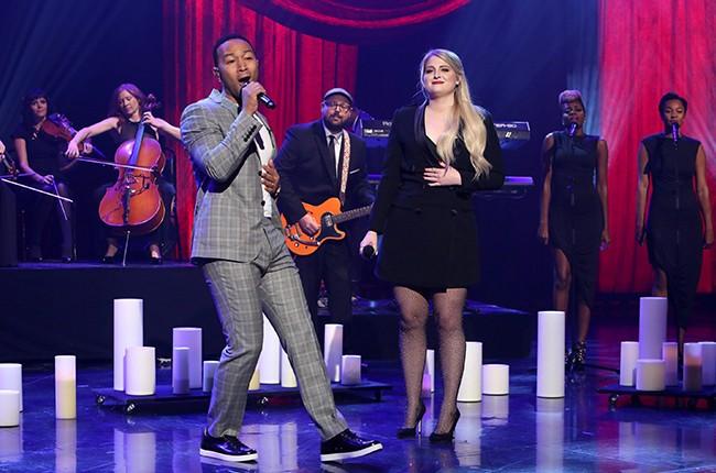 "Meghan Trainor and John Legend on ""The Ellen DeGeneres Show"""