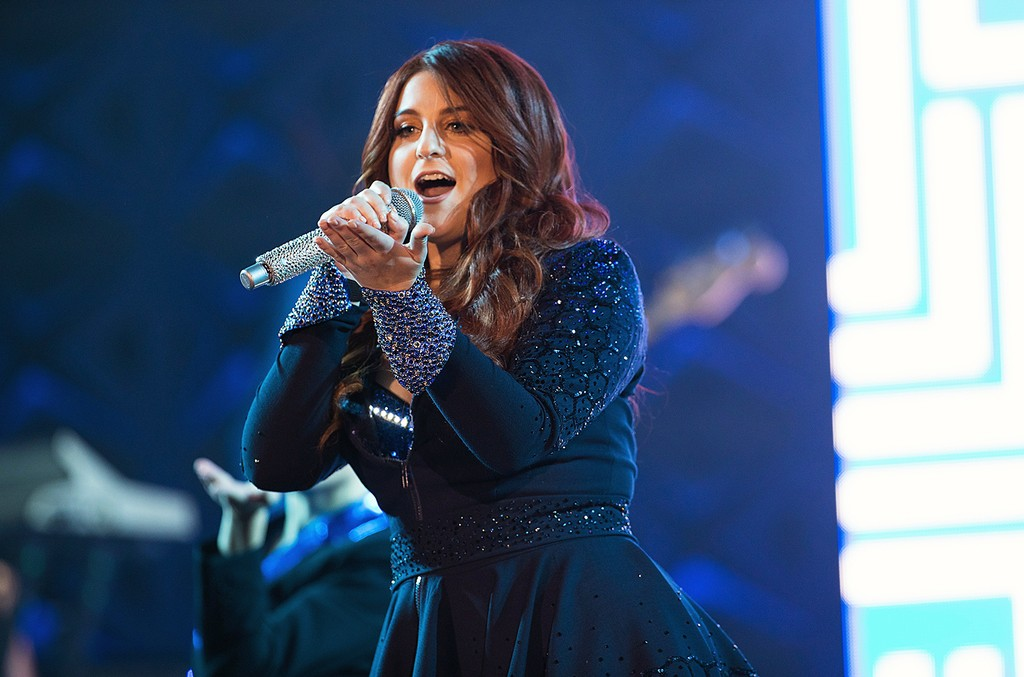 Meghan Trainor performs during the Untouchable Tour