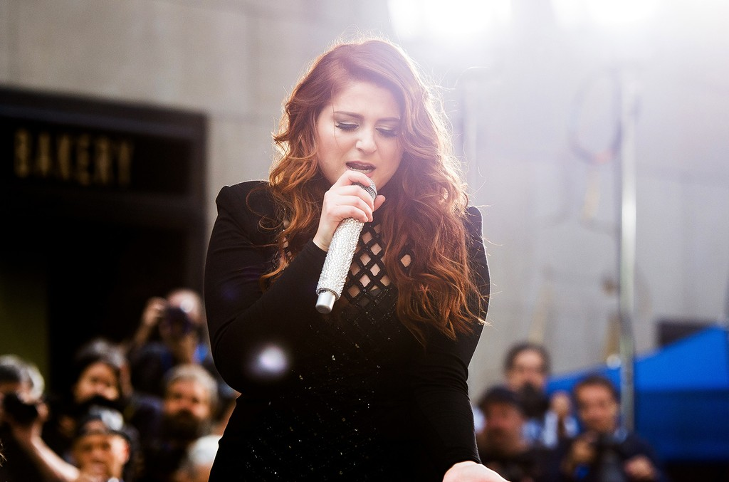 Meghan Trainor performs at Rockefeller Plaza on June 21, 2016 in New York City.