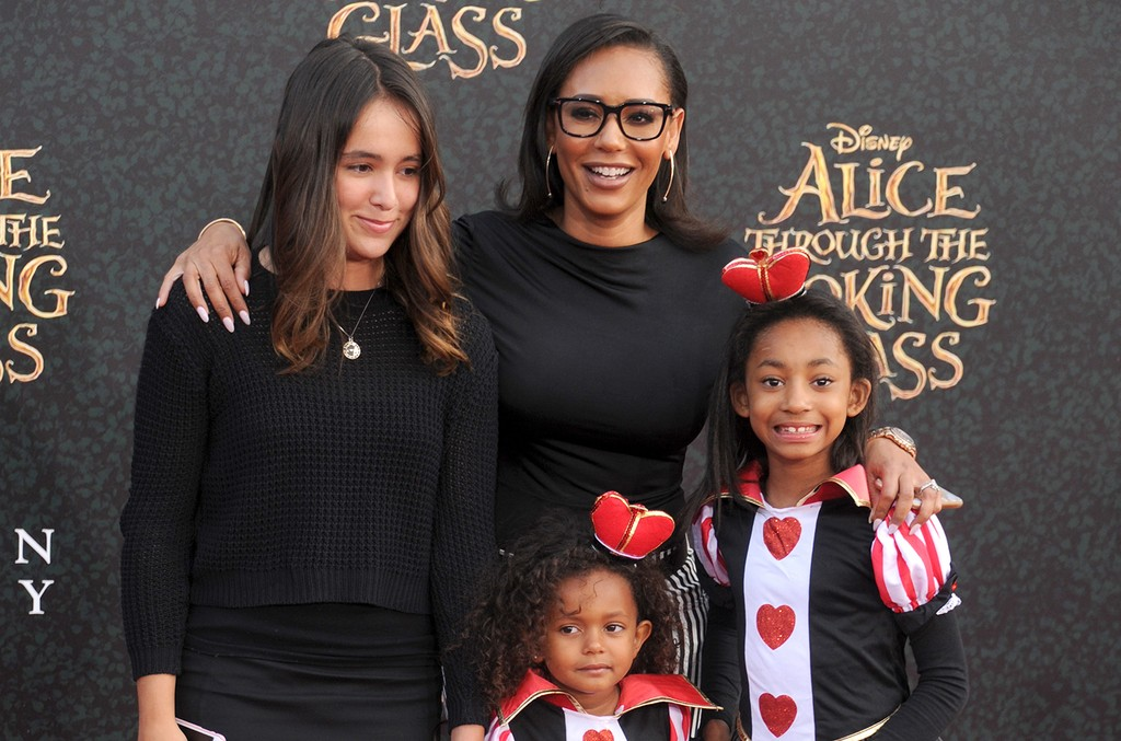 Mel B and daughters