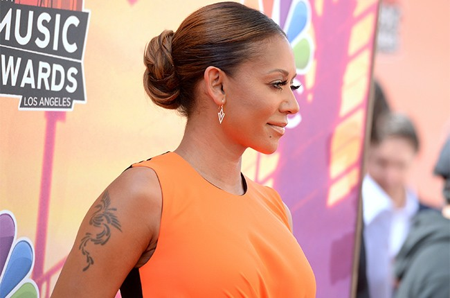 Mel B at the iHeartRadio Music Awards