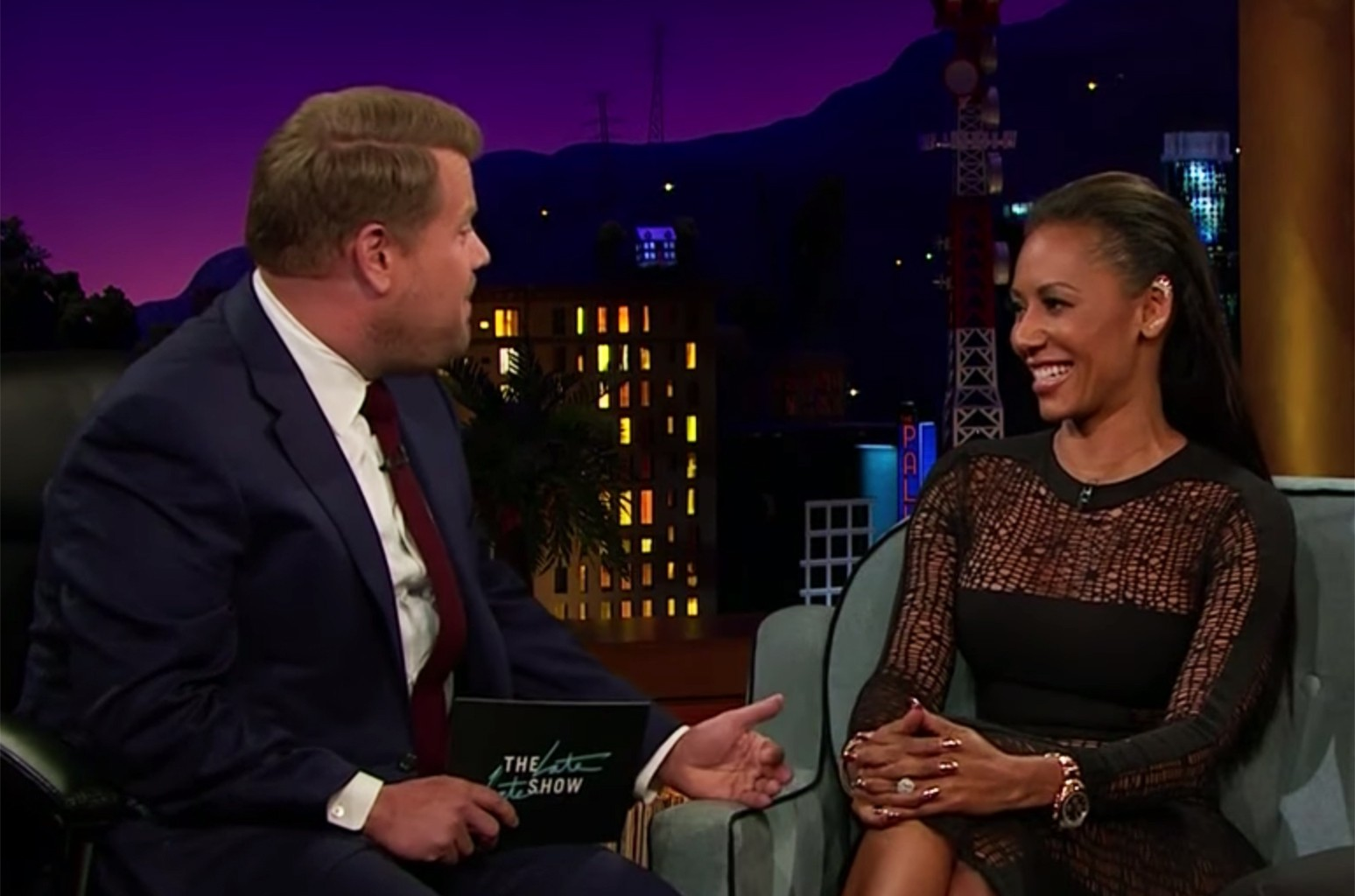 Mel B on The Late Late Show with James Corden