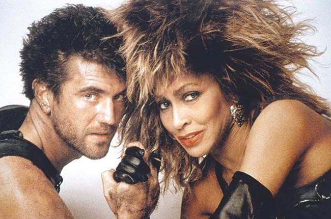 Mel Gibson and Tina Turner