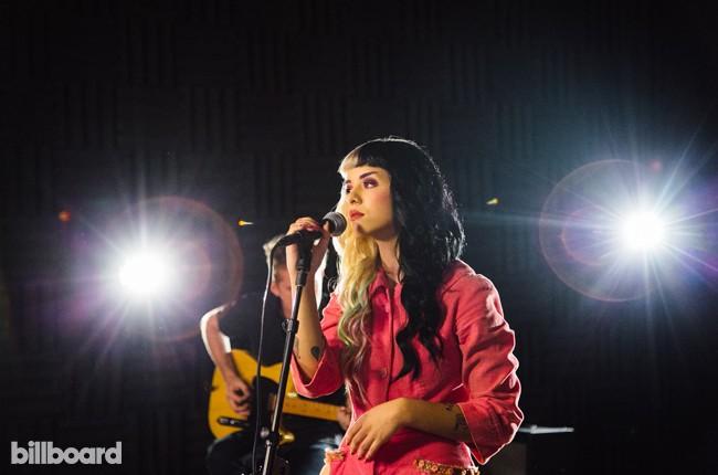Melanie Martinez photographed at Billboard's studio in Chelsea, New York City on Sept 8, 2015.
