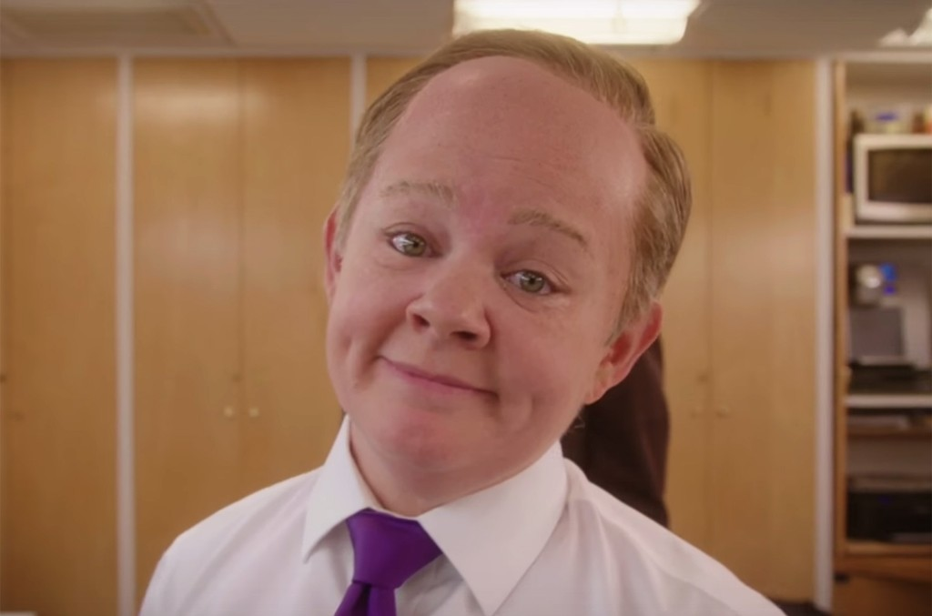 Melissa McCarthy as Sean Spicer in a promo for Saturday Night Live